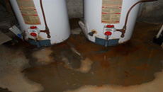 Hot water heater leaking garland tx sewer drain cleaning for Leaky pipe carries more water